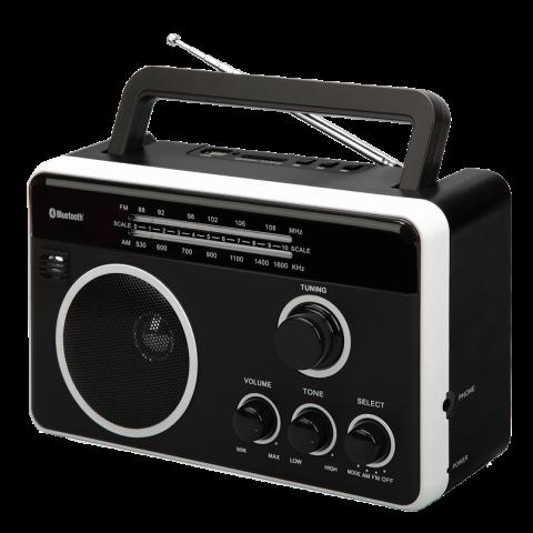 Φορητό Ραδιόφωνο Bluetooth FTR-1617BTbk-wh