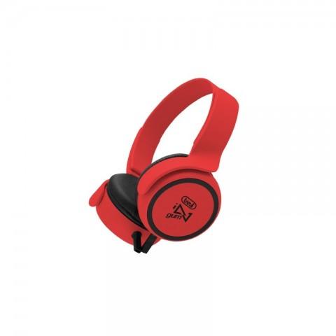 Στερεοφωνικά ακουστικά HiFi DJ-673M RD
