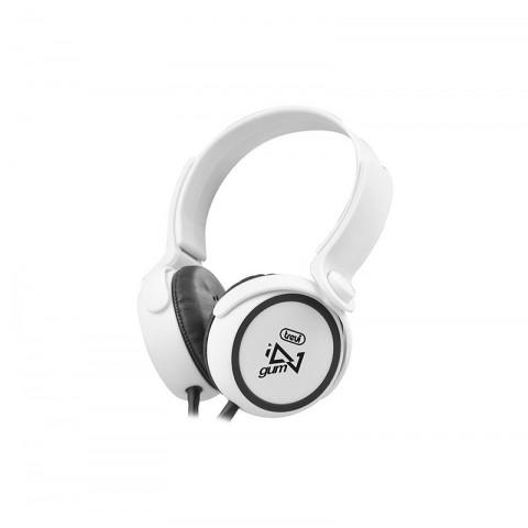 Στερεοφωνικά ακουστικά HiFi DJ-673M WH