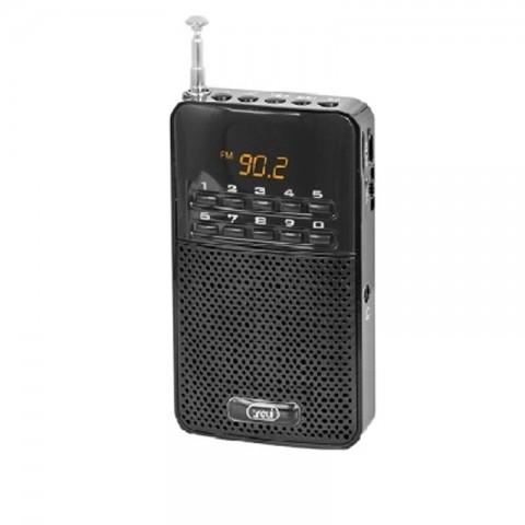Ψηφιακό Φορητό ραδιόφωνο AM/FM DR-730M/BK