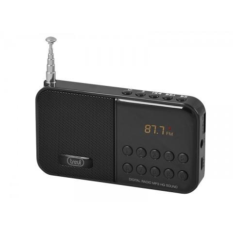 Ψηφιακό Φορητό ραδιόφωνο AM/FM DR-740 SD