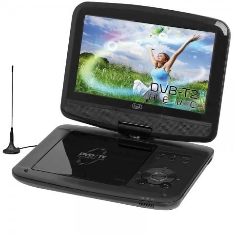 """Φορητή τηλεόραση και DVD player με οθόνη 9"""" DVBX-1418 HE"""