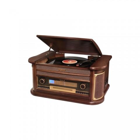 Vintage Πικάπ/ CD/ USB/ Cassette player HIF-1996BT