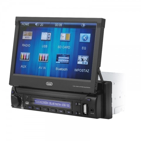 1 DIN Radio-MP3 Player αυτοκινήτου MDV-6350