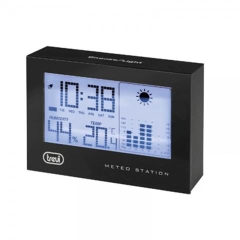Μετεωρολογικός σταθμός με Ρολόι Ξυπνητήρι ME-3103bk