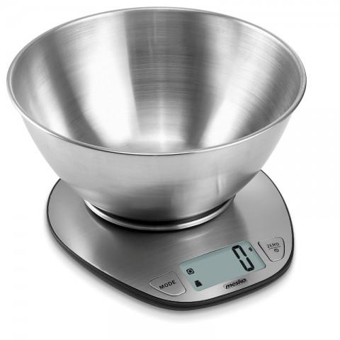 Ανοξείδωτη ψηφιακή ζυγαριά κουζίνας MS-3152