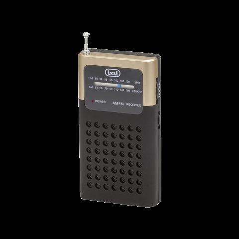 Ραδιόφωνο τσέπης FM/AM RA-714bk