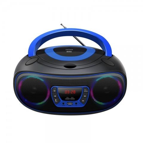 Φορητό Ράδιο-CD/MP3/USB player TCL-212BT BLUE