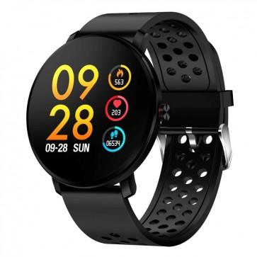 Smartwatch Bluetooth SW-171 BK με αισθητήρα καρδιακών παλμών