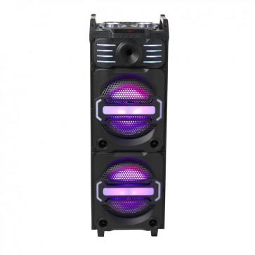 Ασύρματο Bluetooth ηχείο-μίκτης Trolley DJS-3010