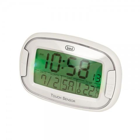 Ρολόι-Ξυπνητήρι αφής με ένδειξη καιρού SLD-3070 WH
