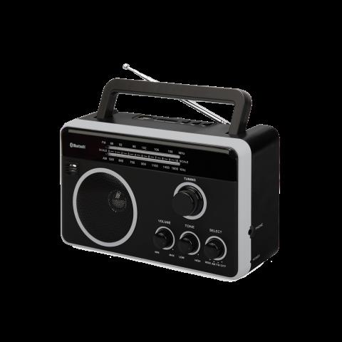 Φορητό Ραδιόφωνο Bluetooth FTR-1617BTbk-sl
