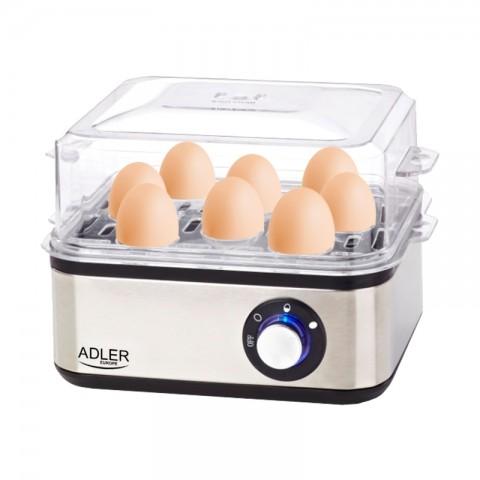 Ηλεκτρικός ανοξείδωτος βραστήρας αυγών AD-4486