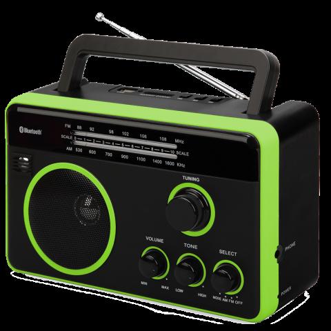 Φορητό Ραδιόφωνο Bluetooth FTR-1617BTbk-gr