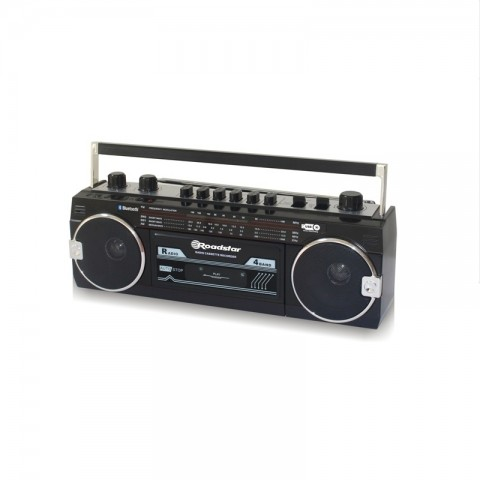 Ηχοσύστημα Stereo 80's RCR-3025EBT ΒΚ
