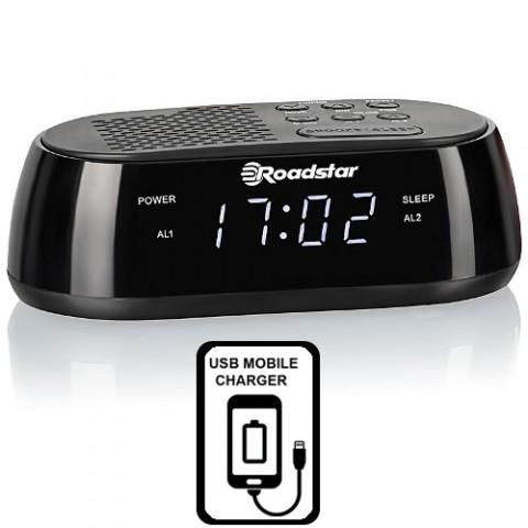 Ράδιο-ρολόιUSB Fast Charge CLR-2477
