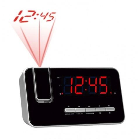 Ράδιο-Ρολόι-Ξυπνητήρι με προτζέκτορα CRP-618