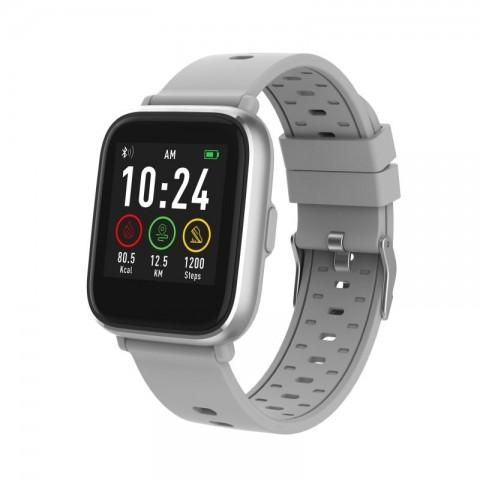 Smartwatch Bluetooth με αισθητήρα καρδιακών παλμών SW-161 GREY