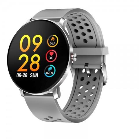 Smartwatch Bluetooth SW-171 GREY με αισθητήρα καρδιακών παλμών