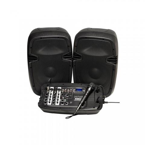 Ζεύγος ενεργών επαγγελματικών ηχείων DJ-200
