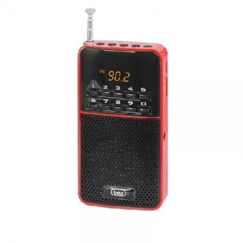 Ψηφιακό Φορητό ραδιόφωνο AM/FM DR-730M/RD