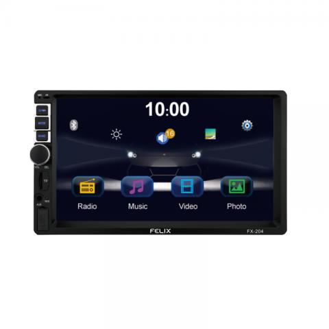 2 DIN MP5 Player αυτοκινήτου με Bluetooth FX-204