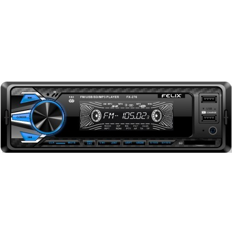 Ράδιο-MP3-Dual USB player FX-276