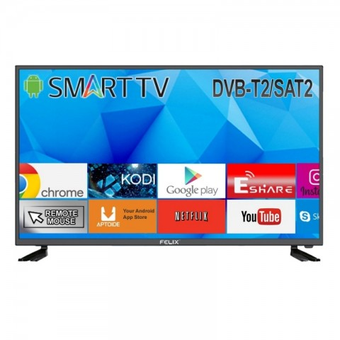 Τηλεόραση 39'' SMART HD FXV-3919 T2/S2