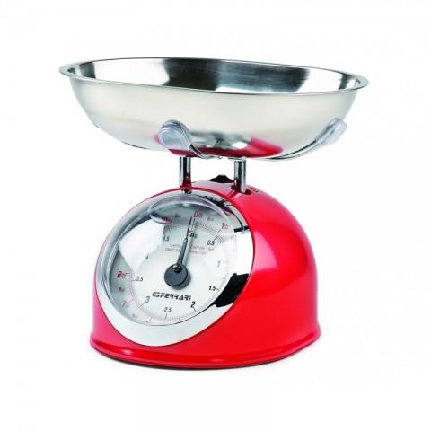 Αναλογική ζυγαριά κουζίνας G20003 RED