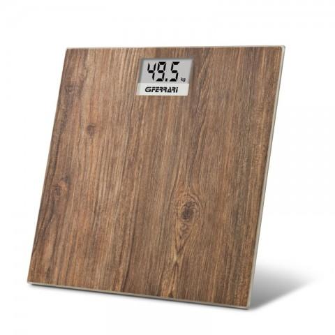 Ψηφιακή ζυγαριά Wooden 3D G30045
