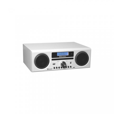 HiFi CD/ MP3/ USB player and charger HRA-9D+BT/WH