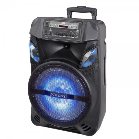 """Φορητό ηχοσύστημα Trolley speaker 12"""" XF-1200"""