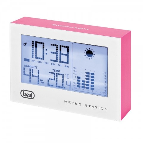 Μετεωρολογικός σταθμός με Ρολόι Ξυπνητήρι ME-3103