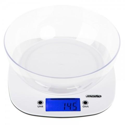 Ψηφιακή ζυγαριά κουζίνας με κάδο MS-3165