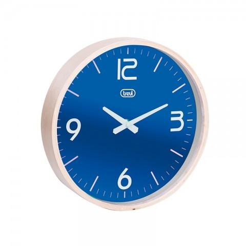 Ρολόι τοίχου με ξύλινο πλαίσιο OM-3311 BL