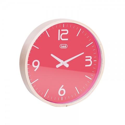 Ρολόι τοίχου με ξύλινο πλαίσιο OM-3311 PK
