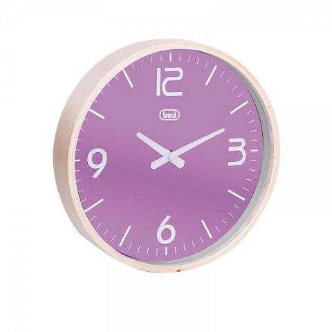 Ρολόι τοίχου με ξύλινο πλαίσιο OM-3311 PR