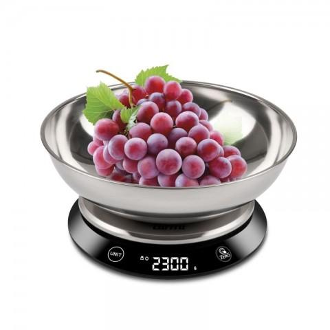 Ψηφιακή inox ζυγαριά κουζίνας με μπολ PS-84