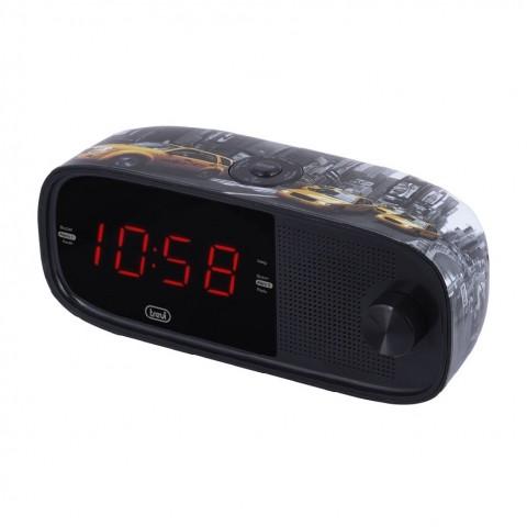 Ράδιο-Ρολόι FM Ρεύματος RC-853D NY TAXI