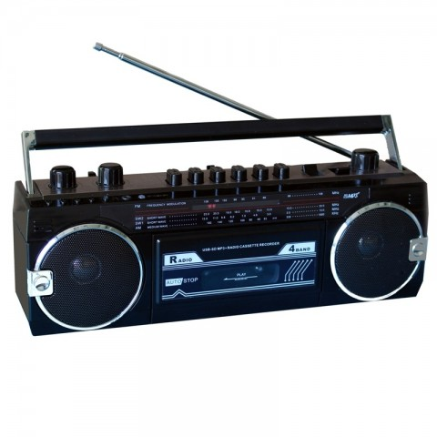 Ηχοσύστημα Stereo 80's RCR-3025EBT