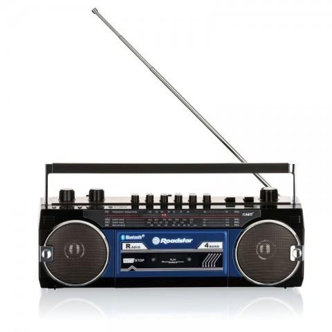 Ηχοσύστημα Stereo 80's RCR-3025EBT BL
