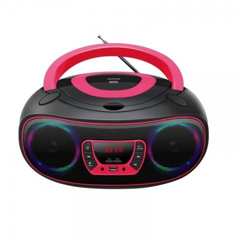 Φορητό Ράδιο-CD/MP3/USB player TCL-212BT PINK