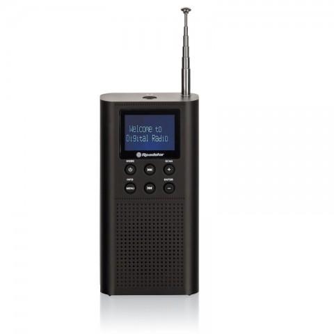 Ραδιόφωνο τσέπης FM με DAB/DAB+ TRA-70D+/BK