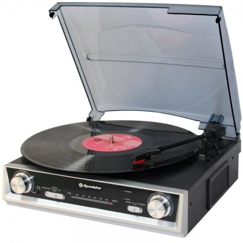 Vintage Πικάπ Player με ενσωματωμένα ηχεία TTR-8634
