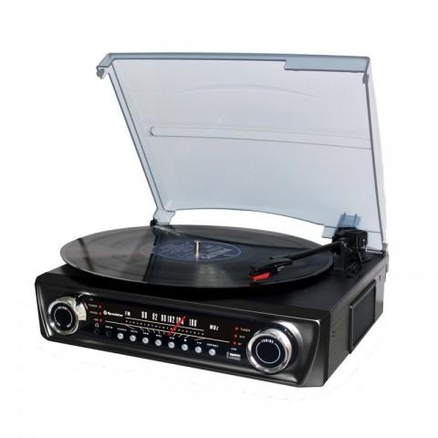 Vintage Πικάπ Player με ενσωματωμένα ηχεία TTR-9645 EBT