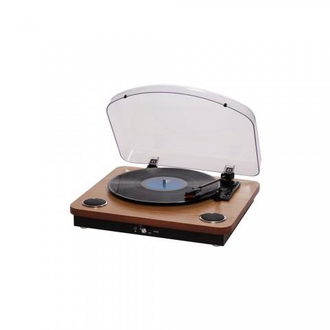 Vintage Πικάπ Player με ενσωματωμένα ηχεία VPL-200 WOOD