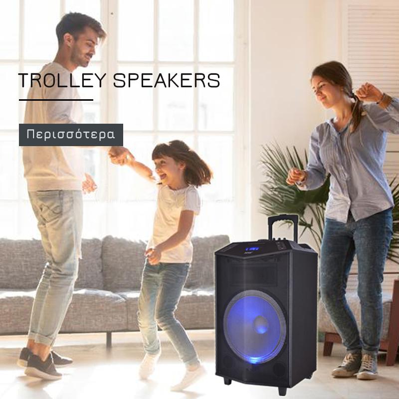 Trolley speakers